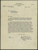 "Letter to Mrs. C.W.M. Poynter from Brigadier General James F. McKinley (correspondence),  March 2, 1933<blockquote class=""juicy-quote"">""Dr. Walker's name was stricken permanently from the Medal of Honor list.""</blockquote><div class=""view-evidence""><a href=""https://doctordoctress.org/islandora/object/islandora:1494/story/islandora:1527"" class=""btn btn-primary custom-colorbox-load""><span class=""glyphicon glyphicon-search""></span> Evidence</a></div>"
