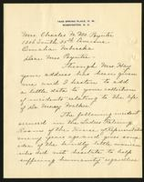 "Letter to Lida Poynter from Elizabeth Stack (correspondence),  March 25, 1930<blockquote class=""juicy-quote"">""This was my first meeting with the Doctor and to it I attribute my effort to obtain that profession that gave me my diploma...""</blockquote><div class=""view-evidence""><a href=""https://doctordoctress.org/islandora/object/islandora:1494/story/islandora:1535"" class=""btn btn-primary custom-colorbox-load""><span class=""glyphicon glyphicon-search""></span> Evidence</a></div>"