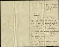 "Letter to Dr. Mary Walker from Rosa Sprig (correspondence), circa September 17, 1870<blockquote class=""juicy-quote"">""You have done harm by some of your habits which are not considered proper, at least in England.""</blockquote><div class=""view-evidence""><a href=""http://doctordoctress.org/islandora/object/islandora:1494/story/islandora:1532"" class=""btn btn-primary custom-colorbox-load""><span class=""glyphicon glyphicon-search""></span> Evidence</a></div>"