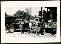 "American Women's Hospitals, Rural Services mobile clinic vaccinating a woman (photograph), circa 1935<blockquote class=""juicy-quote"">An American Women's Hospital doctor (in hat and ""AWH"" armband) administers a shot to a local woman in Jellico, Tennessee.</blockquote><div class=""view-evidence""><a href=""http://doctordoctress.org/islandora/object/islandora:1859/story/islandora:2086"" class=""btn btn-primary custom-colorbox-load""><span class=""glyphicon glyphicon-search""></span> Evidence</a></div>"