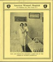 "American Women's Hospitals 1931 fundraising pamphlet (pamphlets), circa 1931<blockquote class=""juicy-quote"">""These people are not refugees in a foreign country, but Americans suffering from diseases due to malnutrition.""</blockquote><div class=""view-evidence""><a href=""http://doctordoctress.org/islandora/object/islandora:1859/story/islandora:2103"" class=""btn btn-primary custom-colorbox-load""><span class=""glyphicon glyphicon-search""></span> Evidence</a></div>"