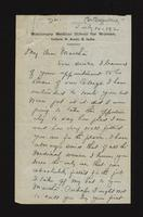 "Letter from Anna Degenring to Martha Tracy (correspondence),  July 14, 1920<blockquote class=""juicy-quote"">""If India is ever to be lifted it can only be done thro' their own people and nothing so appeals as medical work.""</blockquote><div class=""view-evidence""><a href=""http://doctordoctress.org/islandora/object/islandora:1862/story/islandora:2124"" class=""btn btn-primary custom-colorbox-load""><span class=""glyphicon glyphicon-search""></span> Evidence</a></div>"